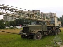Кран КС-4561А на базі КрАЗ-257 (10.07.2017)